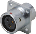 Female Rear Panel Mount Connector PD-SF1213-SX Series