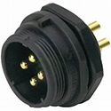 Male Panel Connector PD-SP2112 Series